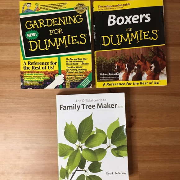 For Dummies Bundle of 2 + Family Tree Maker